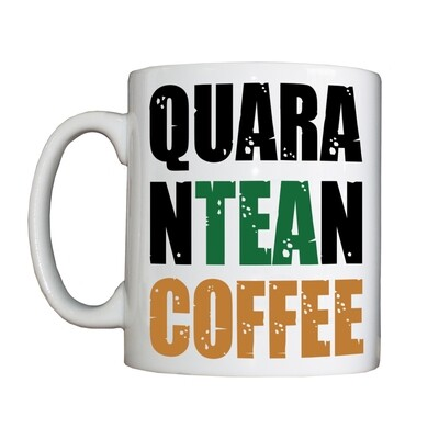 Personalised 'QuaranTEAnCOFFEE' Drinking Vessel