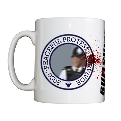 Personalised '2020 Peaceful Protests Survivor' Drinking Vessel