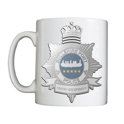 Personalised 'Bullshire Port Police' Drinking Vessel