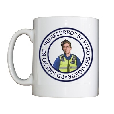 Personalised 'PCSO Shaggeur' Drinking Vessel