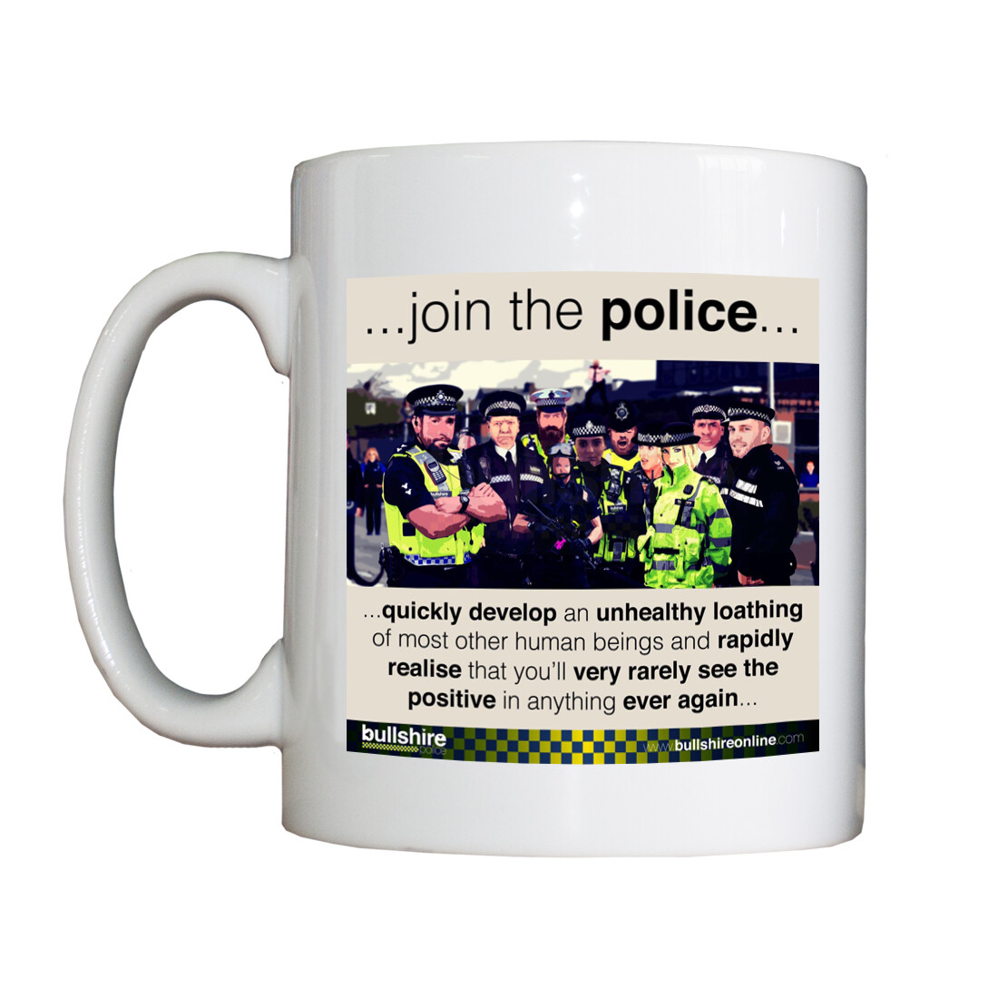 'Join the Police' Drinking Vessel