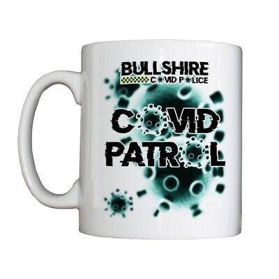 Personalised 'CoViD Patrol' Drinking Vessel