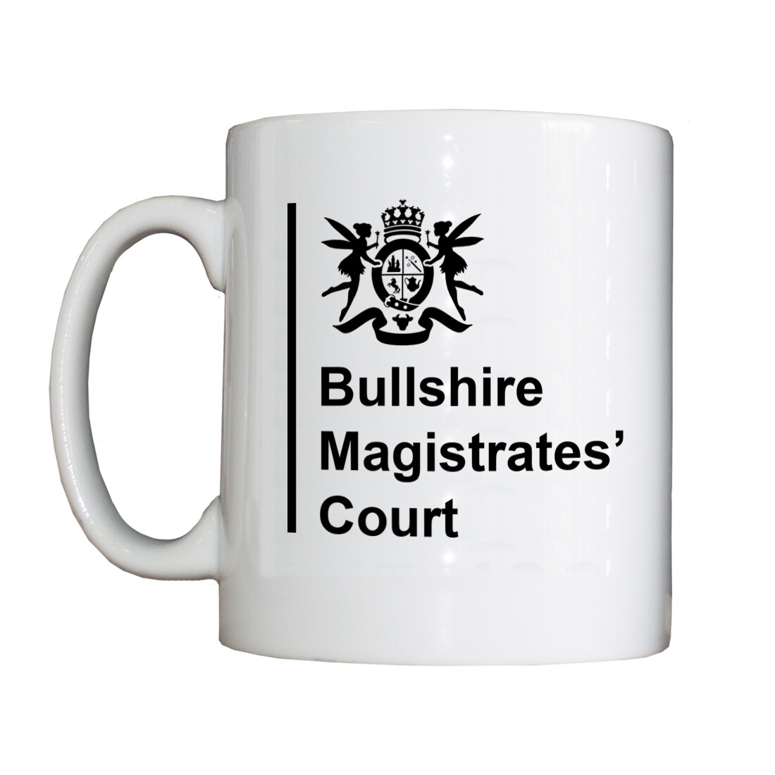 Personalised 'Bullshire Magistrates' Drinking Vessel