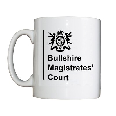 Personalised 'Bullshire Magistrates' Drinking Vessel