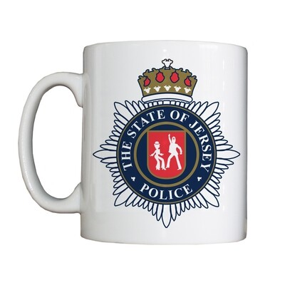 Personalised 'The State of Jersey Police' Drinking Vessel