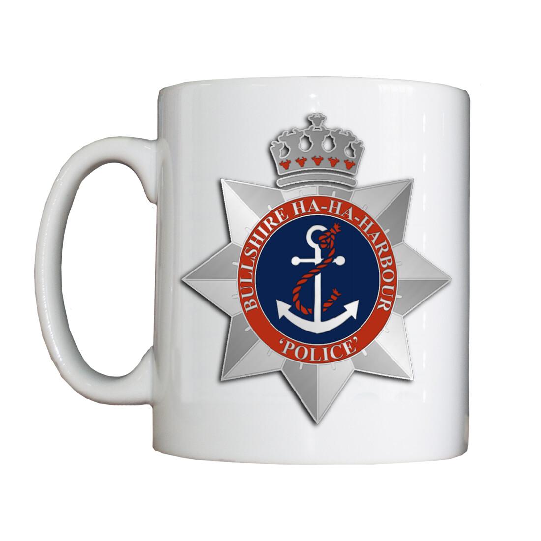 Personalised 'Ha-Ha-Harbour Police' Drinking Vessel