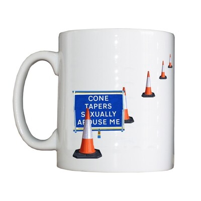 Personalised 'Cone Taper' Drinking Vessel