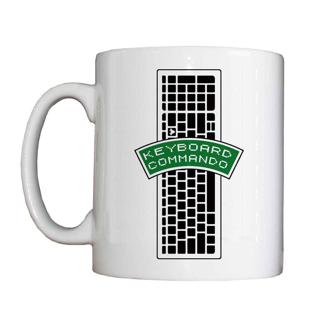 Personalised 'Keyboard Commando' Drinking Vessel