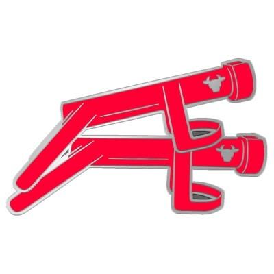 '2021 Smashing Back Doors' Pin Badge