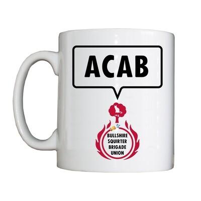 Personalised 'FBU ACAB' Drinking Vessel