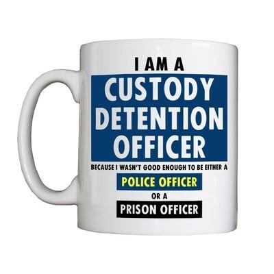 Personalised 'Custody Detention Officer' Drinking Vessel