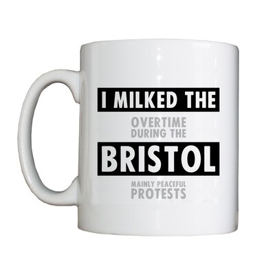 Personalised 'Milked the Bristol' Drinking Vessel