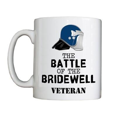 Personalised 'The Battle of The Bridewell Veteran' Drinking Vessel