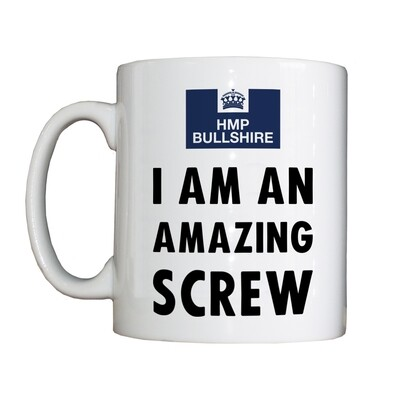 Personalised 'Amazing Screw' Drinking Vessel