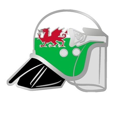 David Jones-BullHat Pin Badge