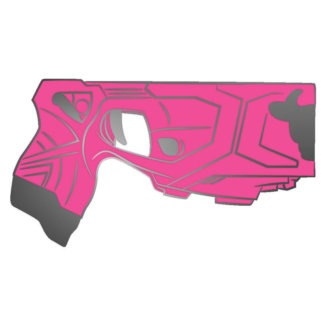 Pink 'Bzzz X2' Pin Badge