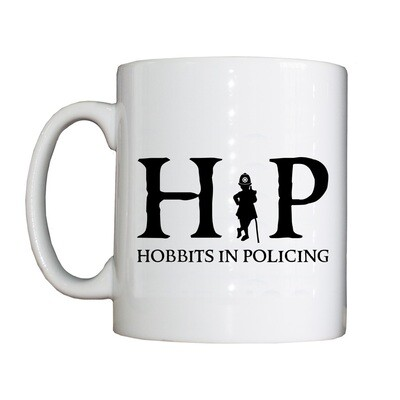 Personalised 'Hobbits in Policing' Drinking Vessel (Mug)