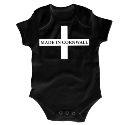 'Made in Cornwall' Baby Grow