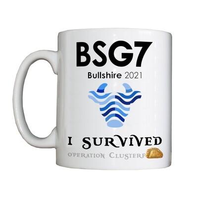 Personalised 'BSG7' Drinking Vessel (Mug)