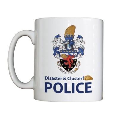 Personalised 'D & C Police' Drinking Vessel (Mug)