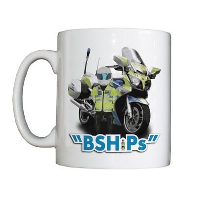 Personalised 'Bullshire Highway Patrol' Drinking Vessel