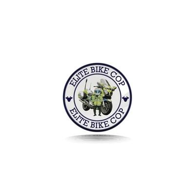 Elite Bike Cop Pin Badge