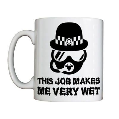 Personalised 'Police Diver' Drinking Vessel