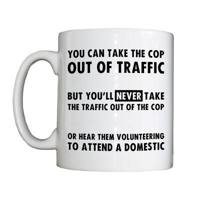 Personalised 'Ex-Traffic' Drinking Vessel