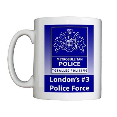 New Personalised 'Metrobullitan Police' Drinking Vessel