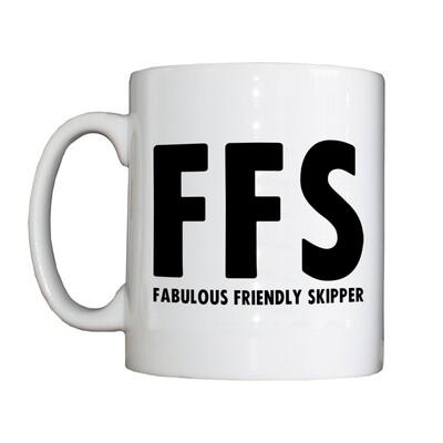 Personalised 'FFS' Drinking Vessel