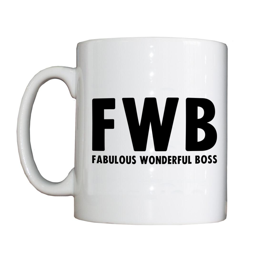Personalised 'FWB' Drinking Vessel