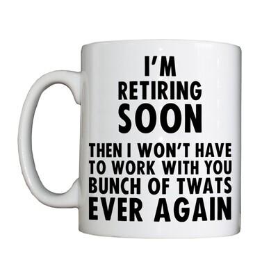 Personalised 'Retiring Soon' Drinking Vessel