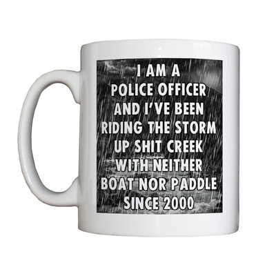Personalised 'Riding the Storm' Drinking Vessel