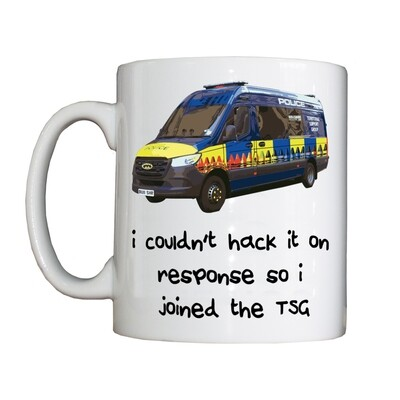 Personalised 'TSG' Drinking Vessel