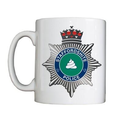 Personalised 'Staffordshite' Drinking Vessel