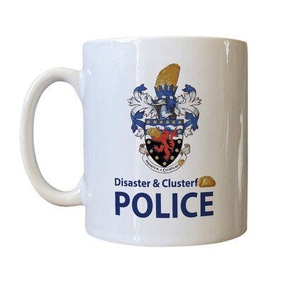 Personalised 'D & C Police' Drinking Vessel