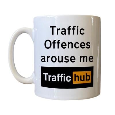 Personalised 'Traffic Hub' Drinking Vessel