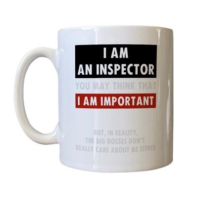 'Important Inspector' Drinking Vessel