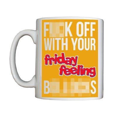 Personalised 'Friday Feeling' Drinking Vessel (Mug)