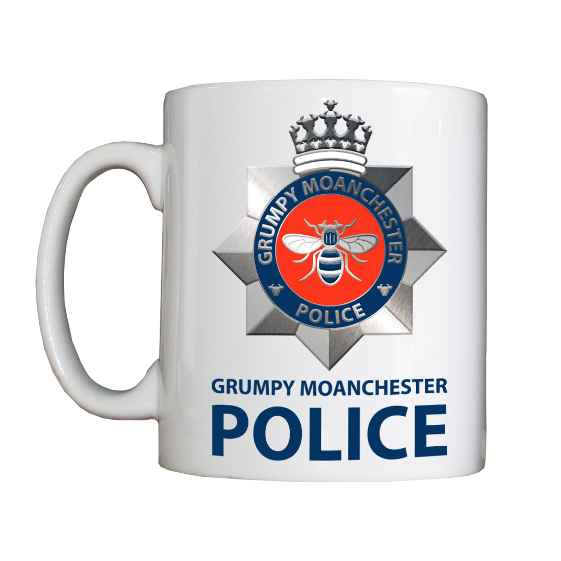 Personalised 'Grumpy Moanchester' Drinking Vessel
