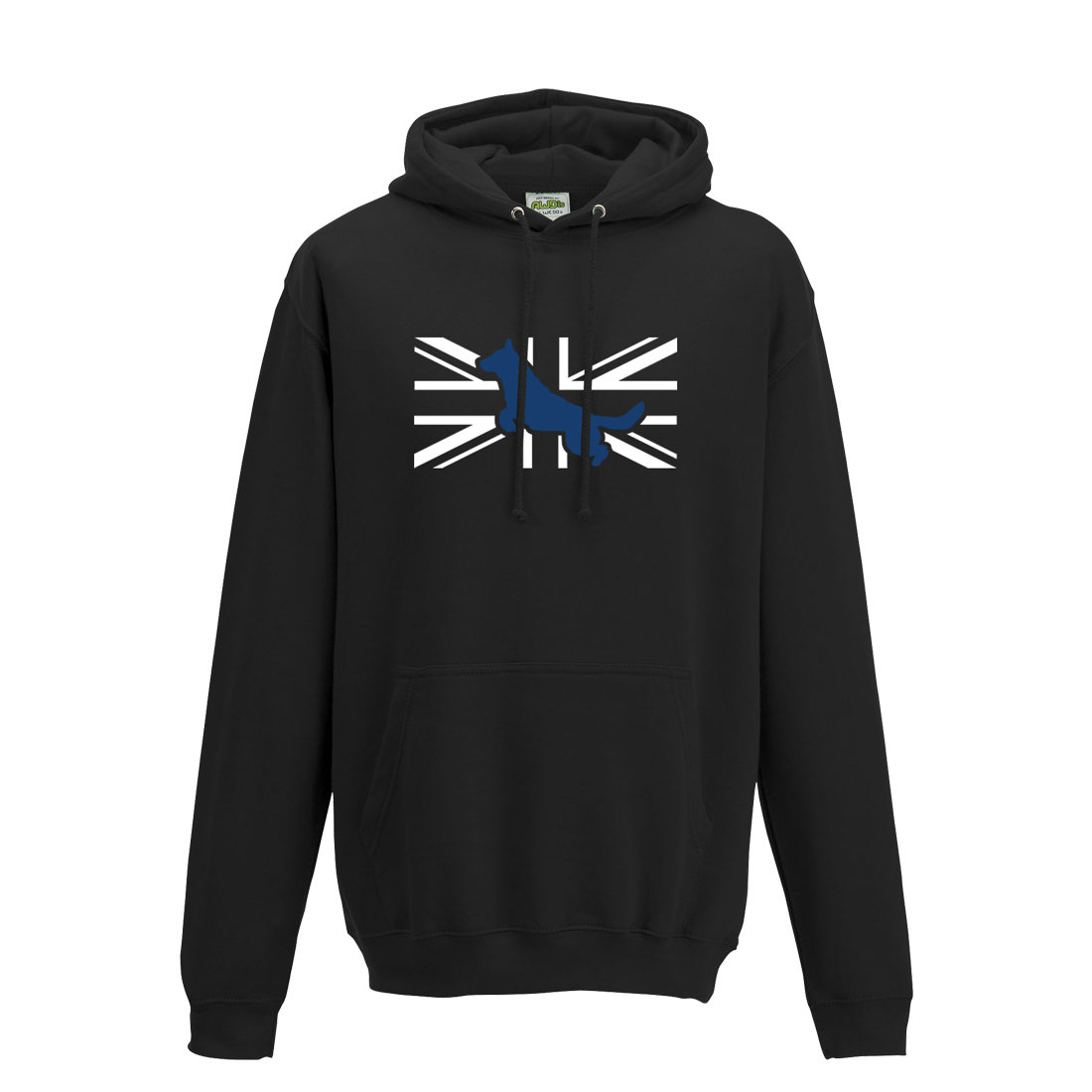 Unisex 'Flag LandShark' Hooded Top