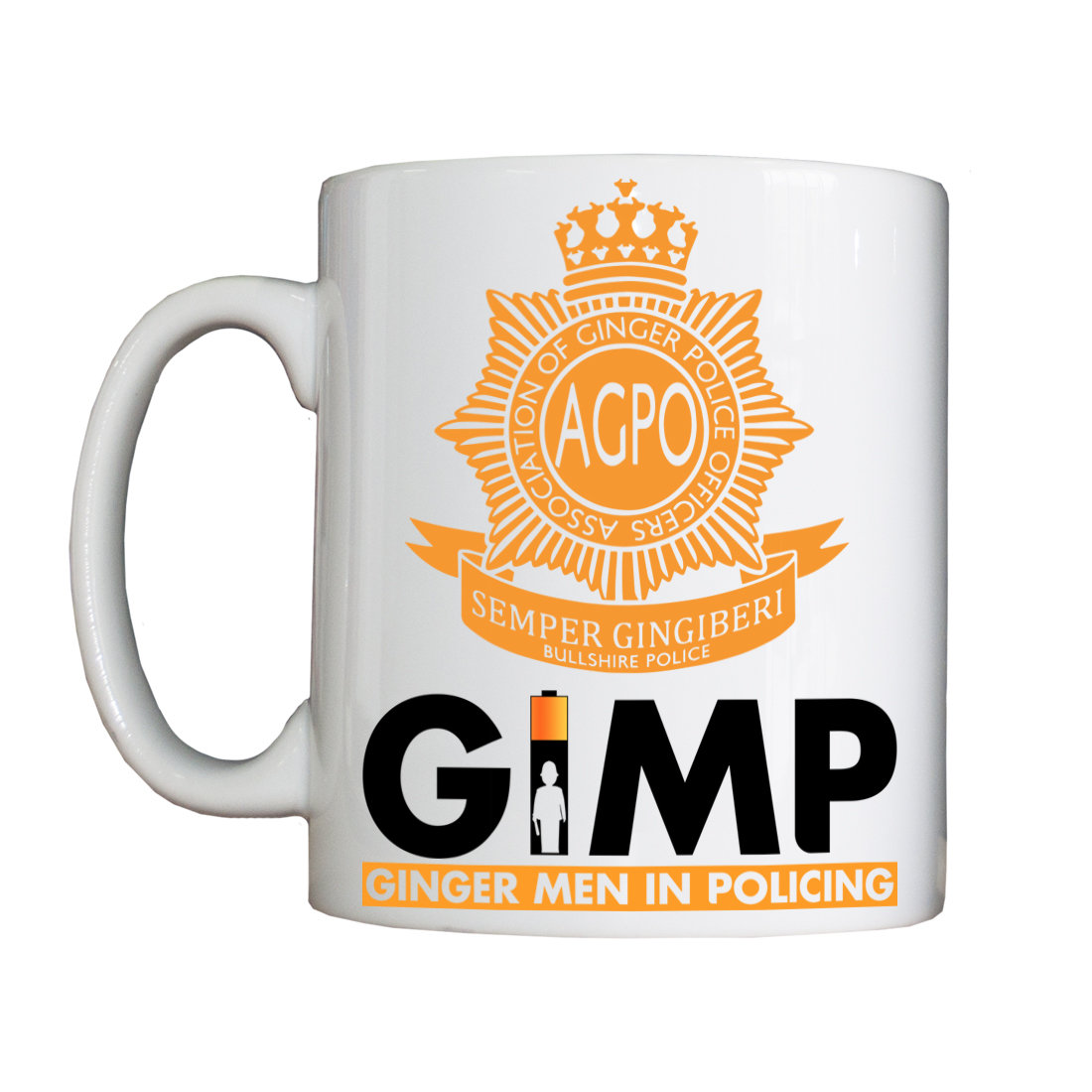 Personalised 'GIMP' Drinking Vessel