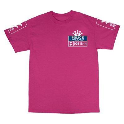 Children's 'Police Princess' T-Shirt