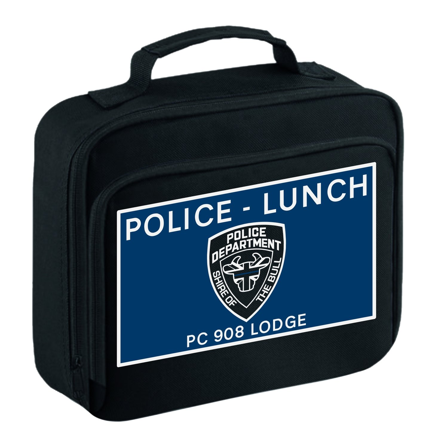 Personalised 'POLICE - LUNCH' Lunch Bag