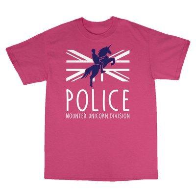 Children's 'Mounted Unicorn Division' T-Shirt