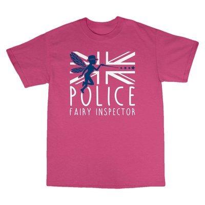 Children's 'Fairy Inspector' T-Shirt