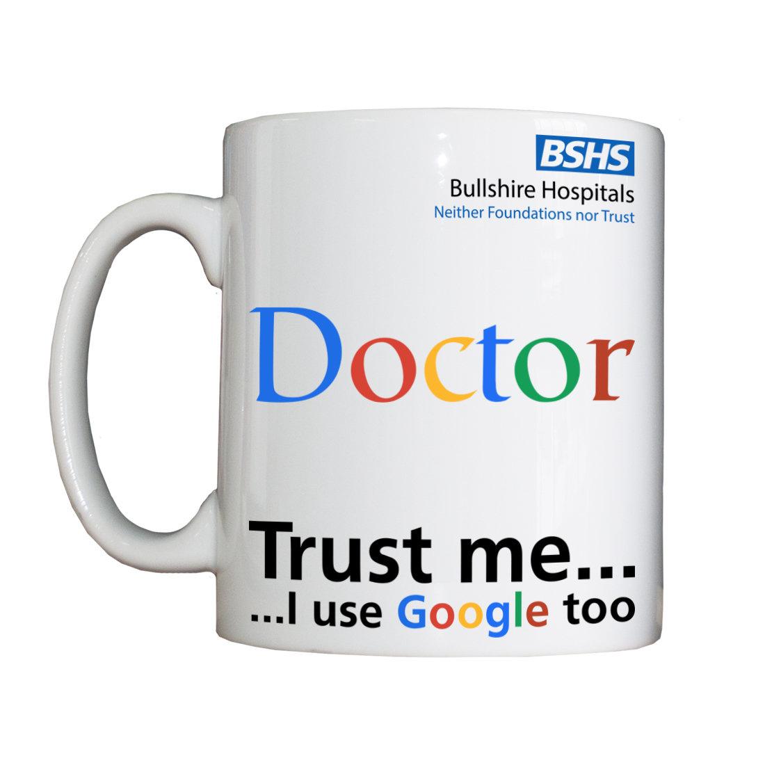 Personalised 'Doctor' Drinking Vessel