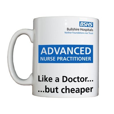 Personalised 'Advanced Nurse Practitioner' Drinking Vessel