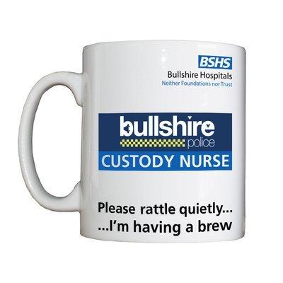 Personalised 'Custody Nurse' Drinking Vessel