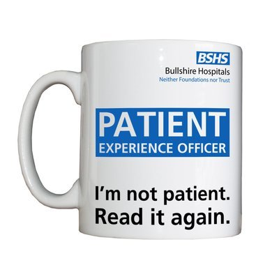 Personalised 'Patient Experience Officer' Drinking Vessel